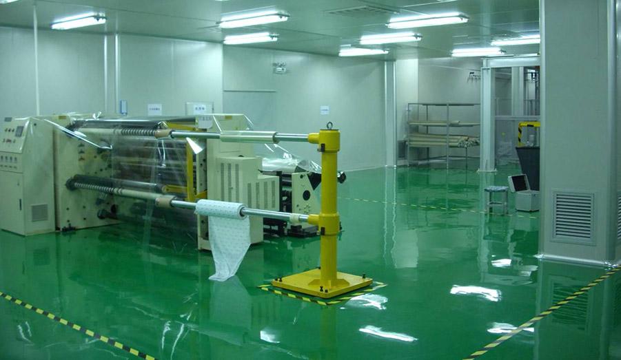 印刷包装行业净化工程-包装车间